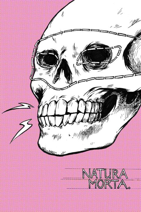 the cover to NATURA MORTA